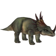 Styracosaurus JPOG