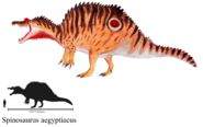 Colored spinosaurus aegyptiacus by zewqt-d8es4z4