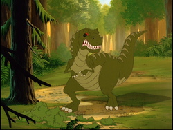 The Land Before Time Giganotosaurus
