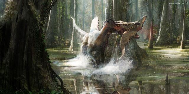 File:Spinosaurus ecology.jpg