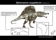 Spinosaurus aegyptiacus by teratophoneus d5kdt3f-pre