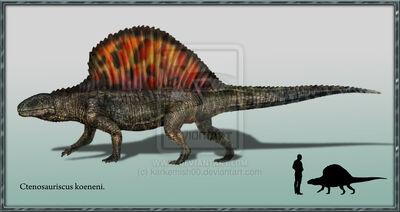Ctenosauriscus koeneni by karkemish00-d4odlz1