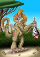 Dinopithecus by tombola1993 dd5ihbt