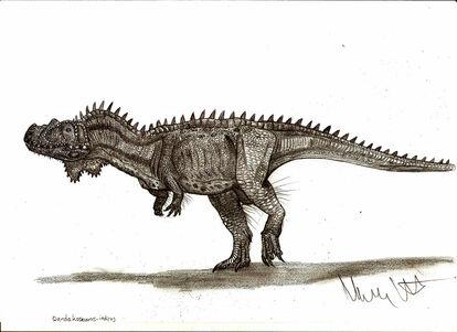 Dandakosaurus indicus by teratophoneus-d4n43il