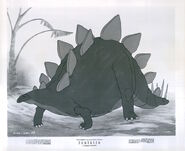 Walt Disney's Fantasia stegosaurus photo