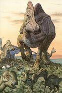 Hypacrosaurus Mark Hallett