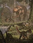 Albertosaurus chirostenotes by abelov2014-d8ijhh0