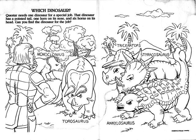 FileDino Riders Coloring Page 7