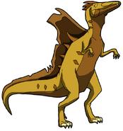Fiona as a Spinosaurus (DinoSquad)
