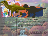 The land before time species chart 24 giganoto by jongoji245 dct679r