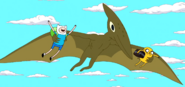 S5e40 Pterodactyl Time with Finn & Jake