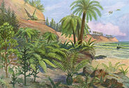 -a-jurassic-landscape---date-mary-evans-picture-library