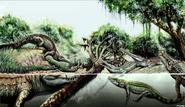 7 crocodile species in Urumaco region, Venezuela