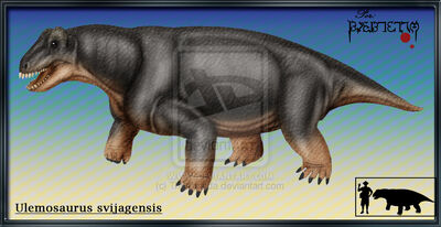 Ulemosaurus svijagensis by Theropsida
