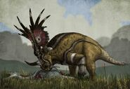 Styracosaurus 2015 Witton low res