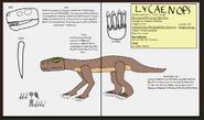 Dinatheen p animal info ref lycaenops by tyrannosaurus90s d8sec2q
