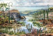 Prehistoric-middle-devonian-landscape-science-source