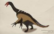 016 therizinosaurus cheloniformis by green mamba-d4qncs6