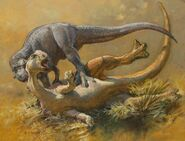 How I Paint Dinosaurs - Takedown by James Gurney