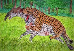 Thylacosmilus by wdghk dc4qpz7