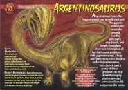 Argentinosaurus front
