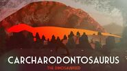 Carcharodontosaurus The Shark Toothed Lizard (TDF animated facts)