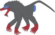 Prehistoric world dinopithecus by daizua123 dananx8