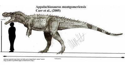 Appalachiosaurus montgomeriensis by teratophoneus-d562oz9