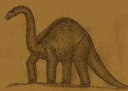 Brontosaurus summerleensis by Adiraiju