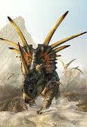 Prehistoric-spikes-styracosaurus-kurt-miller