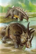 Styraco and polacanthus