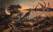 Cretaceous mammal ratlike
