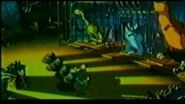 """We're Back! A Dinosaur Story Infamous cut """"Cage"""" scene"""