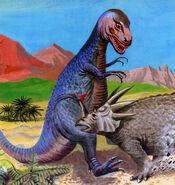 Gorgosaurus&Styracosaurus2