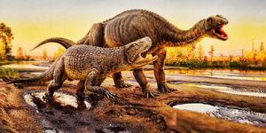 Fasolasuchus vs. Lessemsaurus