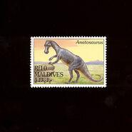 Maldives 1994 anatosaurus