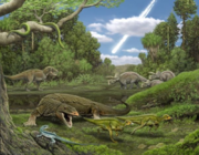 Reptiles that lived in the end of the Cretaceous