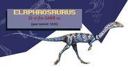 Jurassic Park Jurassic World Guide Elaphrosaurus