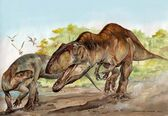 Acrocantosaurus vs Tenontosaurus2