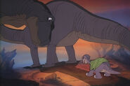 Littlefoot with Mother