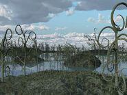 Prehistoric-swamp-plants-artwork-walter-myers