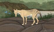 Thylacine by louisetheanimator d8vkrds