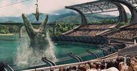 Mosasaur Feeding Show Jurassic World