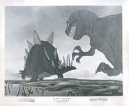 Walt DIsney's Fantasia dinosaurs photo