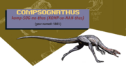 Jurassic Park Jurassic World Guide Compsognathus