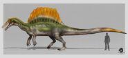 Spinosaurus aegyptiacus speedpaint by artag95 ddkr0e7-fullview