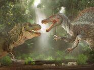 Tyrannosaurus vs Spinosaurus