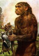 Neanderthal by zdenek burian 1950