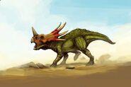 Styracosaurus by bubaben d8exjqq-pre