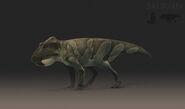 Leptoceratops Female Saurian